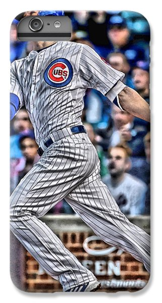 Kris Bryant Chicago Cubs IPhone 6s Plus Case by Joe Hamilton
