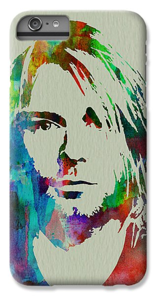 Musicians iPhone 6s Plus Case - Kurt Cobain Nirvana by Naxart Studio