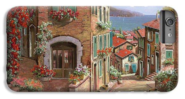 Town iPhone 6s Plus Case - La Discesa Al Mare by Guido Borelli