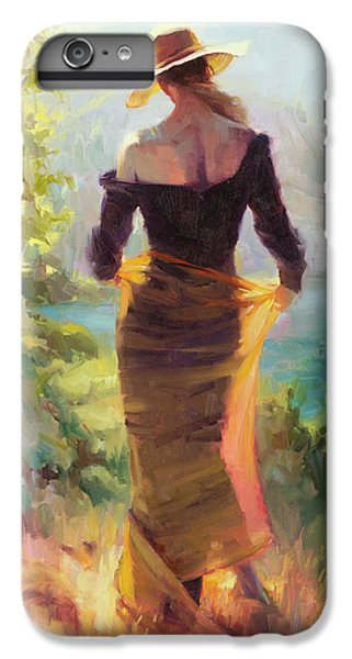 Impressionism iPhone 6s Plus Case - Lady Of The Lake by Steve Henderson
