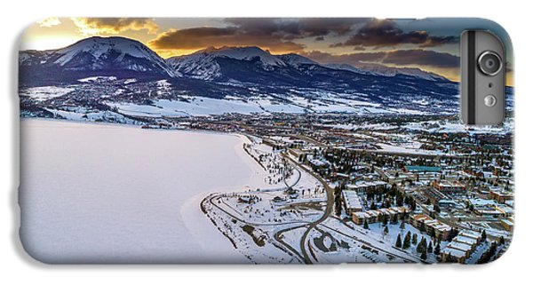 IPhone 6s Plus Case featuring the photograph Lake Dillon Sunset by Sebastian Musial