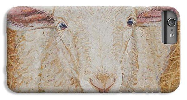 Sheep iPhone 6s Plus Case - Lamb Of God by Christine Belt