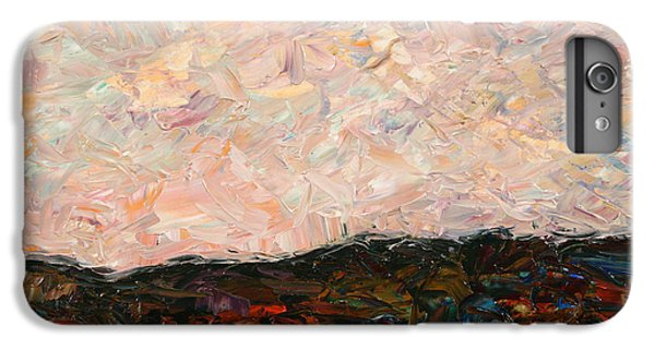 Impressionism iPhone 6s Plus Case - Land And Sky by James W Johnson