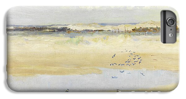 Lapwing iPhone 6s Plus Case - Lapwings By The Sea by William James Laidlay