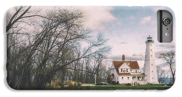 Lake Michigan iPhone 6s Plus Case - Late Afternoon At The Lighthouse by Scott Norris