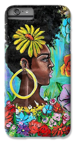 iPhone 6s Plus Case - Late Bloomer by Artist RiA