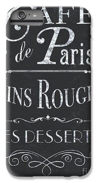 Bar iPhone 6s Plus Case - Le Petite Bistro 2 by Debbie DeWitt