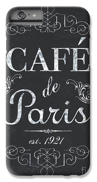 Bar iPhone 6s Plus Case - Le Petite Bistro 3 by Debbie DeWitt