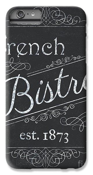 Bar iPhone 6s Plus Case - Le Petite Bistro 4 by Debbie DeWitt