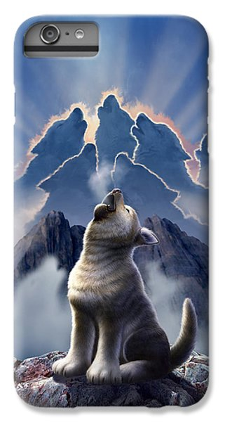 Mountain iPhone 6s Plus Case - Leader Of The Pack by Jerry LoFaro