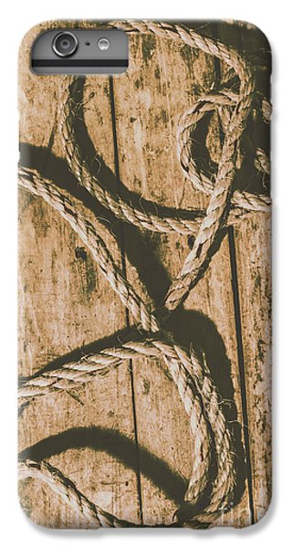 IPhone 6s Plus Case featuring the photograph Learning The Ropes by Jorgo Photography - Wall Art Gallery