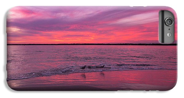 Sandpiper iPhone 6s Plus Case - Leave Us To Dream 2 by Betsy Knapp