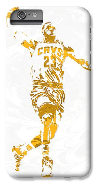 Lebron James Cleveland Cavaliers Pixel Art 12 IPhone 6s Plus Case
