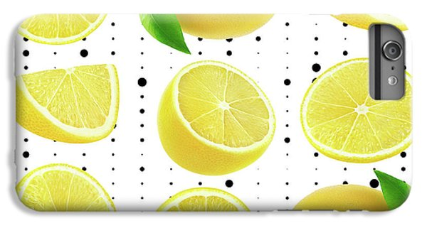Grapefruit iPhone 6s Plus Case - Lemon  by Mark Ashkenazi