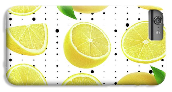 Lemon  IPhone 6s Plus Case by Mark Ashkenazi