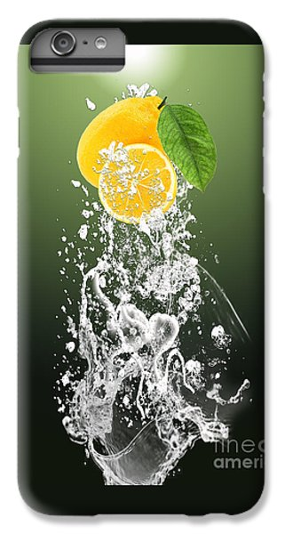 Lemon Splast IPhone 6s Plus Case by Marvin Blaine