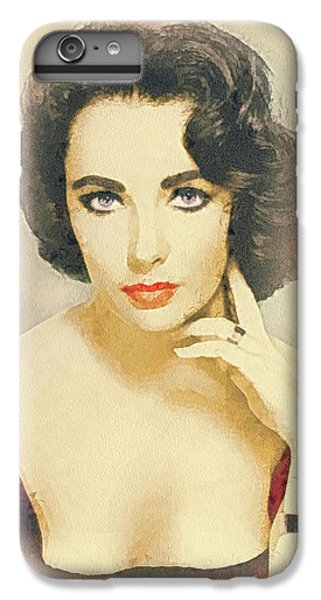 Liz Taylor iPhone 6s Plus Case - Liberian Girl by Mo T