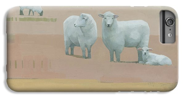 Sheep iPhone 6s Plus Case - Life Between Seams by Steve Mitchell