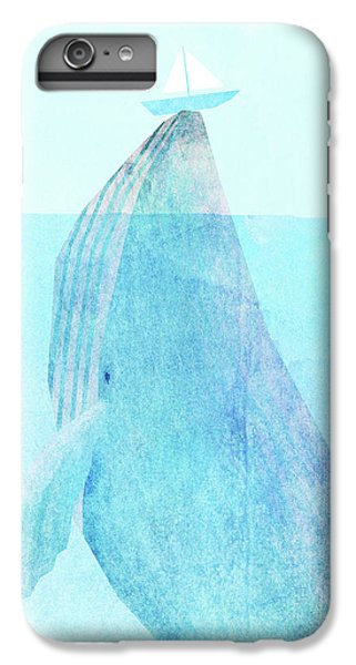 Whale iPhone 6s Plus Case - Lift Option by Eric Fan