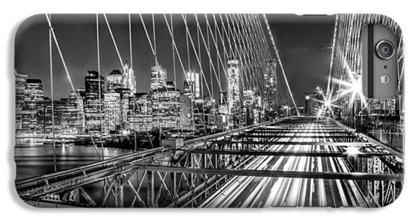 Light Trails Of Manhattan IPhone 6s Plus Case by Az Jackson