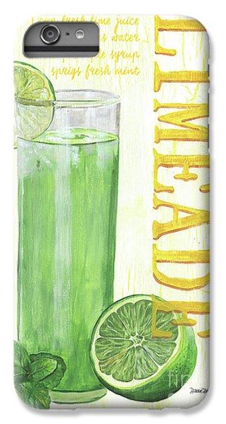 Lime iPhone 6s Plus Case - Limeade by Debbie DeWitt