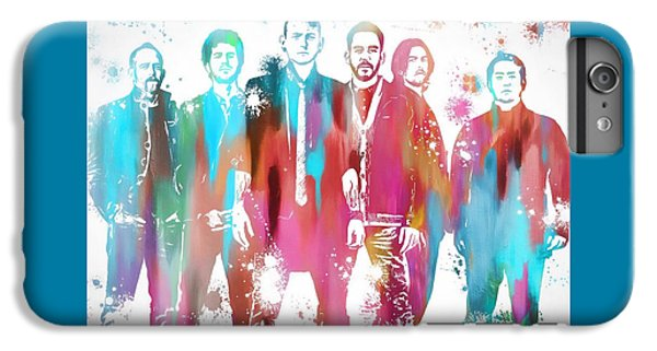Linkin Park Watercolor Paint Splatter IPhone 6s Plus Case
