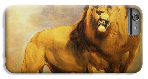 Lion  IPhone 6s Plus Case by William Huggins