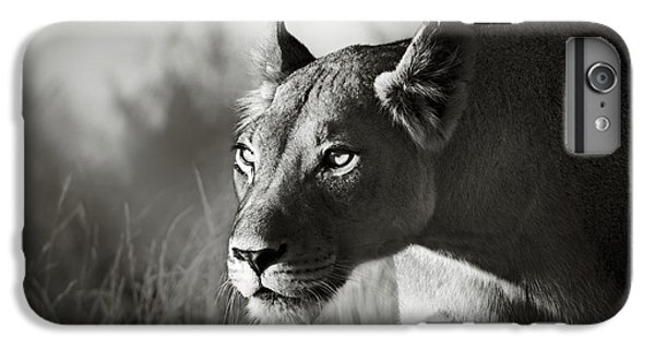 White iPhone 6s Plus Case - Lioness Stalking by Johan Swanepoel
