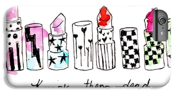 Lipstick Galore IPhone 6s Plus Case by Elizabeth Taylor
