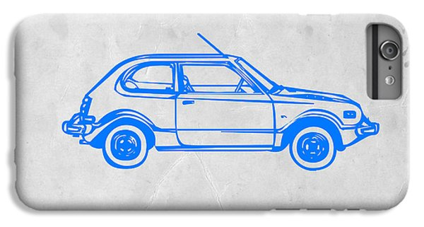 Beetle iPhone 6s Plus Case - Little Car by Naxart Studio