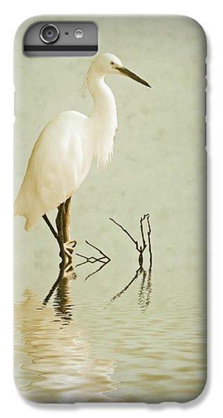 Little Egret IPhone 6s Plus Case by Sharon Lisa Clarke