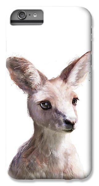 Animals iPhone 6s Plus Case - Little Kangaroo by Amy Hamilton