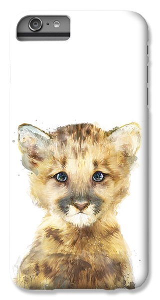Little Mountain Lion IPhone 6s Plus Case by Amy Hamilton