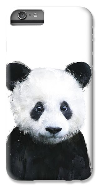 Little Panda IPhone 6s Plus Case by Amy Hamilton