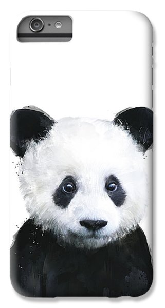 iPhone 6s Plus Case - Little Panda by Amy Hamilton
