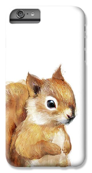 Squirrel iPhone 6s Plus Case - Little Squirrel by Amy Hamilton