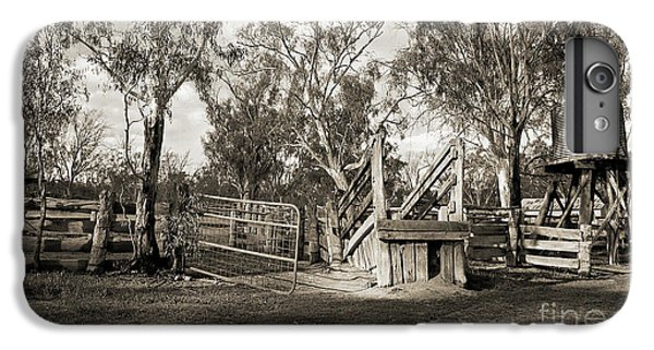 IPhone 6s Plus Case featuring the photograph Loading Ramp by Linda Lees