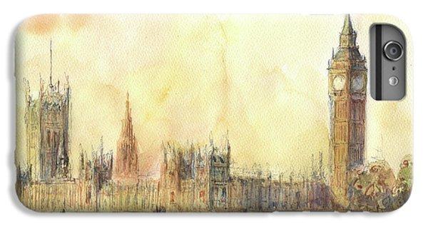 London Big Ben And Thames River IPhone 6s Plus Case by Juan Bosco