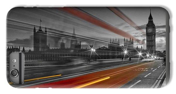 London Red Bus IPhone 6s Plus Case by Melanie Viola