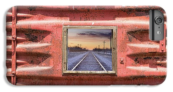 IPhone 6s Plus Case featuring the photograph Looking Back by James BO Insogna
