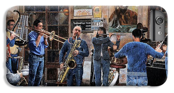 Trumpet iPhone 6s Plus Case - L'orchestra by Guido Borelli