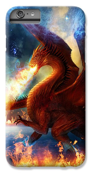 Dragon iPhone 6s Plus Case - Lord Of The Celestial Dragons by Philip Straub
