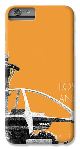 Los Angeles Skyline Lax Spider - Orange IPhone 6s Plus Case