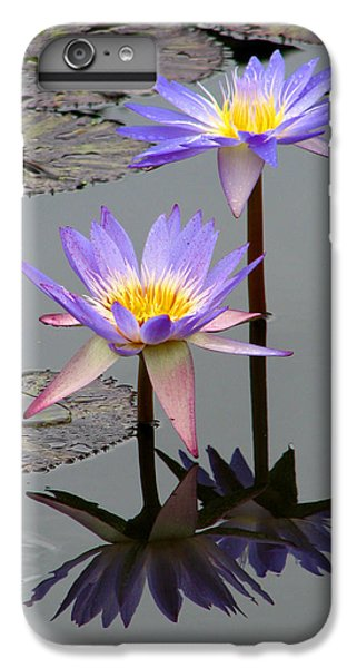 Floral iPhone 6s Plus Case - Lotus Reflection 4 by David Dunham