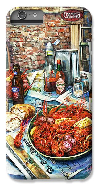 Food And Beverage iPhone 6s Plus Case - Louisiana Saturday Night by Dianne Parks