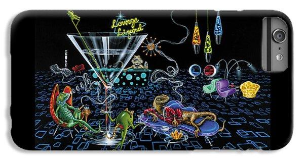 Lounge Lizard IPhone 6s Plus Case by Michael Godard