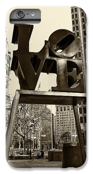 Love Philadelphia IPhone 6s Plus Case by Jack Paolini