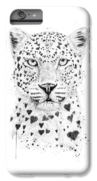 Great White Shark iPhone 6s Plus Case - Lovely Leopard by Balazs Solti