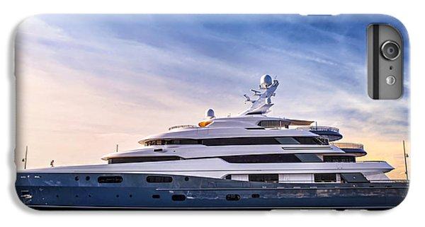 Boats iPhone 6s Plus Case - Luxury Yacht by Elena Elisseeva