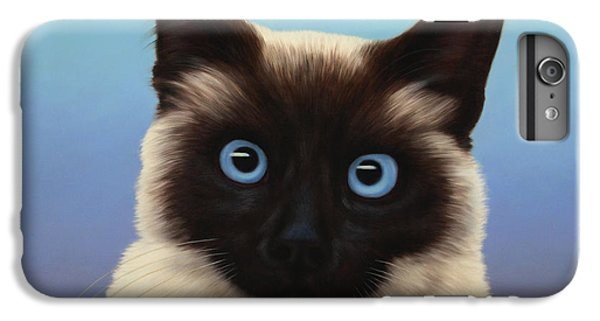 Cat iPhone 6s Plus Case - Machka 2001 by James W Johnson